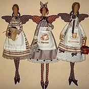 Куклы и игрушки ручной работы. Ярмарка Мастеров - ручная работа Кофейная феюшка. Handmade.