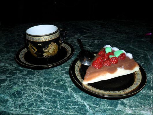 """Мыло ручной работы. Ярмарка Мастеров - ручная работа. Купить Мыло """"Малиновый пирог"""". Handmade. Мыло ручной работы, малина"""