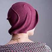 Аксессуары ручной работы. Ярмарка Мастеров - ручная работа шляпа фетровая Фрез. Handmade.
