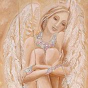 Картины и панно ручной работы. Ярмарка Мастеров - ручная работа Нежный Ангел.... Handmade.