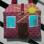 Куклы и игрушки ручной работы. Ярмарка Мастеров - ручная работа Сумка-домик. Handmade.