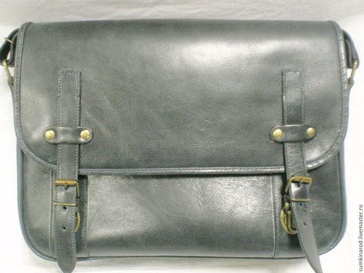 Женские сумки ручной работы. Ярмарка Мастеров - ручная работа. Купить Кожаная сумка Уни. Handmade. Тёмно-синий
