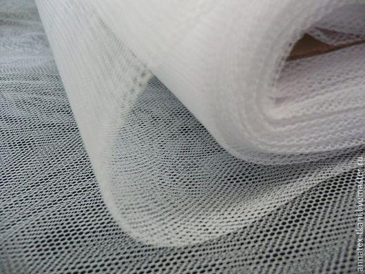 Пачечный Тюль полужесткий (200см) - цвет белый