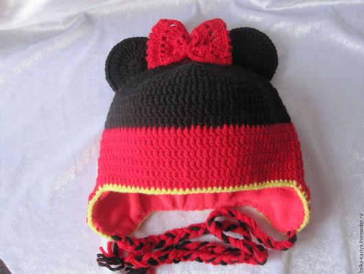 Шапки и шарфы ручной работы. Ярмарка Мастеров - ручная работа. Купить шапка Мини для девочки. Handmade. Шапка для девочки