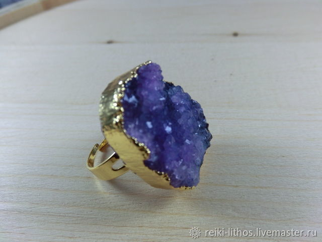 ring with amethyst drosou, Rings, Moscow,  Фото №1