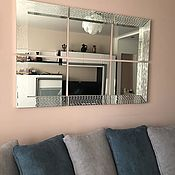 Для дома и интерьера handmade. Livemaster - original item The mirror is divided into segments. Handmade.