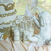 """Подарки к праздникам ручной работы. Ярмарка Мастеров - ручная работа Набор на крещение """"Ангелы"""". Handmade."""