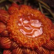 """Украшения handmade. Livemaster - original item Гребень """"Цветок для медовой феи"""". Handmade."""