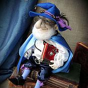 """Куклы и игрушки ручной работы. Ярмарка Мастеров - ручная работа """"Гном- Сказочник"""" - авторская текстильная кукла. Handmade."""