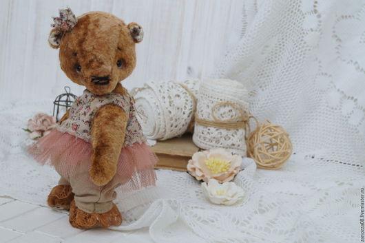 Мишки Тедди ручной работы. Ярмарка Мастеров - ручная работа. Купить Принцесска. Handmade. Бежевый, мишка ручной работы, принцесса