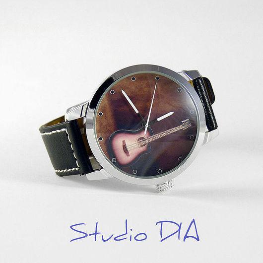 Часы Гитара 12 Струнная. Студия Дизайнерских Часов DIA.