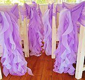 Свадебный салон ручной работы. Ярмарка Мастеров - ручная работа Банты на стулья. аренда, пошив.. Handmade.
