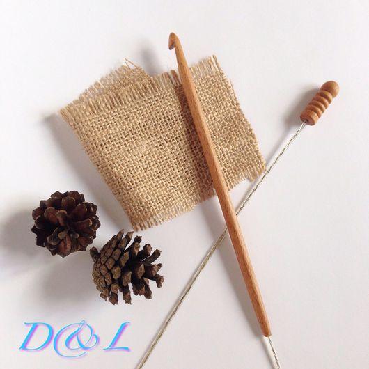Вязание ручной работы. Ярмарка Мастеров - ручная работа. Купить Крючок для тунисского вязания номер 7, 8, 9, 10, 12. Handmade.