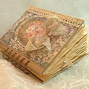 """Блокноты ручной работы. Ярмарка Мастеров - ручная работа Блокнот  """"Романтическое настроение"""". Handmade."""