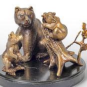 Для дома и интерьера ручной работы. Ярмарка Мастеров - ручная работа Три медведя. Handmade.