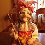 Куклы и игрушки ручной работы. Ярмарка Мастеров - ручная работа Оберег Бабуля-Ягуля. Handmade.