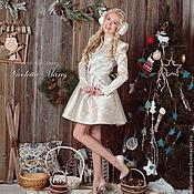 """Одежда ручной работы. Ярмарка Мастеров - ручная работа Новое новогоднее платье """"La Neige"""". Handmade."""