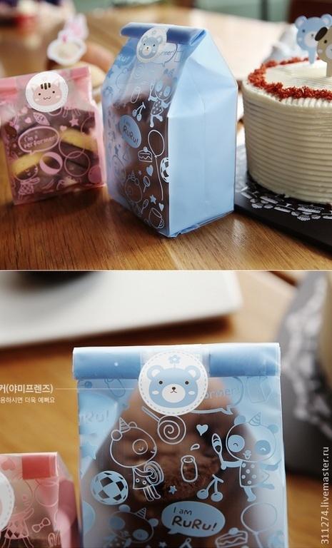 Упаковка ручной работы. Ярмарка Мастеров - ручная работа. Купить Пакет для упаковки подарка.. Handmade. Голубой, упаковка для подарка