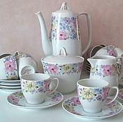 Чайный сервиз на 12 персон LIMOGES HAVILAND