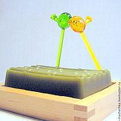"""Косметика ручной работы. Ярмарка Мастеров - ручная работа Мыло """"Бамбук"""". Handmade."""