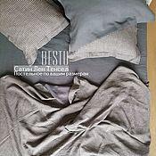 Для дома и интерьера handmade. Livemaster - original item Linen bed linen  (100% linen). Handmade.