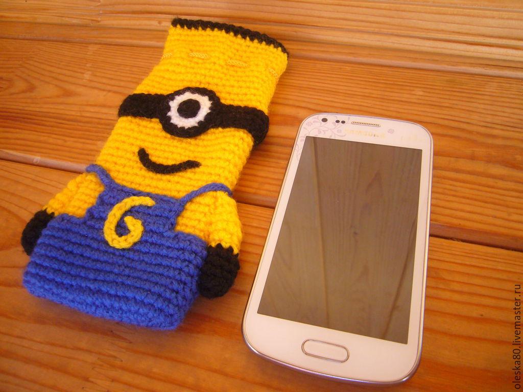 Чехлы на сотовые телефоны своими руками