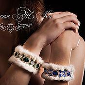 Украшения handmade. Livemaster - original item Bracelet mink