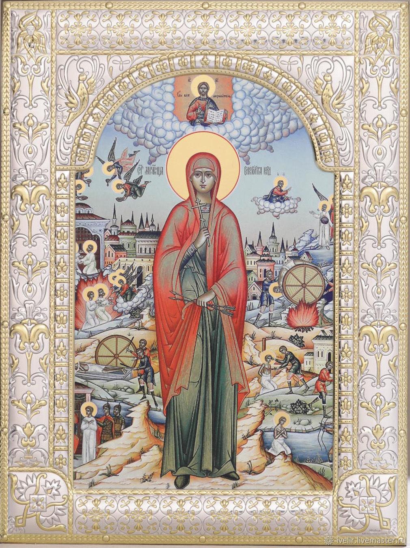 Victoria of Korduvia (18x24cm), Icons, Moscow,  Фото №1