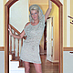 """Платья ручной работы. Заказать Платье вязаное""""Легкость"""". от Хелен (otHelen). Ярмарка Мастеров. Летнее платье, вязание на заказ"""
