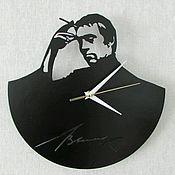 Для дома и интерьера ручной работы. Ярмарка Мастеров - ручная работа Часы Высоцкий. Handmade.