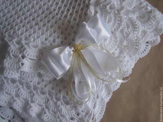Пледы и одеяла ручной работы. Ярмарка Мастеров - ручная работа. Купить Белоснежный плед. Handmade. Белый, для детей, плед для девочки
