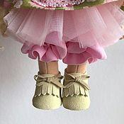 Одежда для кукол ручной работы. Ярмарка Мастеров - ручная работа Мокасины замша 191. Handmade.