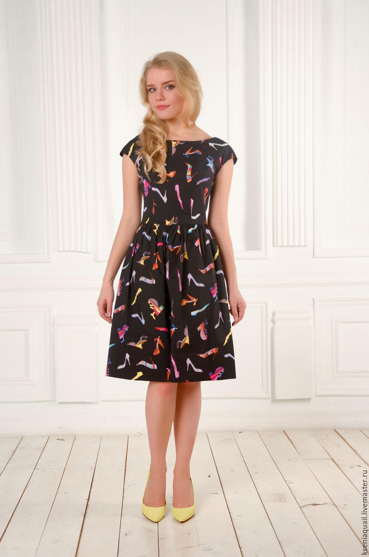 Милое платье до колена