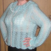 Одежда handmade. Livemaster - original item womens mohair jacket. Handmade.