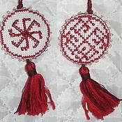 Фен-шуй и эзотерика handmade. Livemaster - original item Double-sided amulet (Ladinic and Rodemich). Handmade.