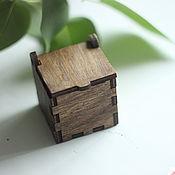 Сувениры и подарки handmade. Livemaster - original item The box for the ring. Handmade.