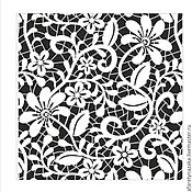 Трафареты ручной работы. Ярмарка Мастеров - ручная работа 01263 Трафарет  МАСКА на клеевой основе многоразовый. Handmade.