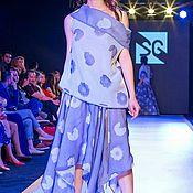 Одежда ручной работы. Ярмарка Мастеров - ручная работа Костюм фиолет 3. Handmade.