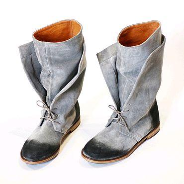 Обувь ручной работы. Ярмарка Мастеров - ручная работа Сапоги ручной работы. Handmade.