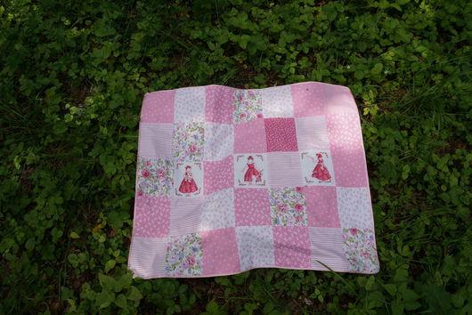 """Пледы и одеяла ручной работы. Ярмарка Мастеров - ручная работа. Купить Лоскутное одеяло """"Принцесса"""". Handmade. Розовый, лоскутное одеяло"""