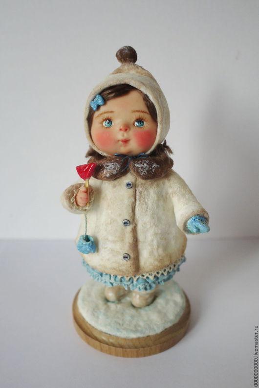 Коллекционные куклы ручной работы. Ярмарка Мастеров - ручная работа. Купить Повтор куклы Варя. Handmade. Кукла ручной работы