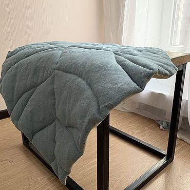 Текстиль ручной работы. Ярмарка Мастеров - ручная работа Интерьерный коврик лист. Handmade.