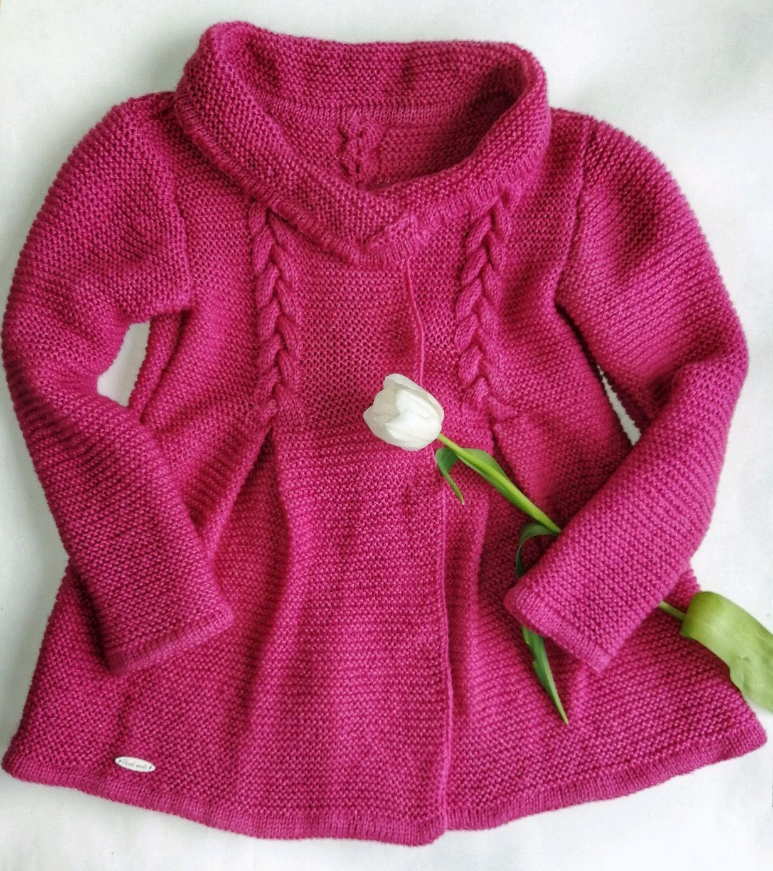 Ropa para chicas manualidades. Livemaster - hecho a mano. Comprar El abrigo. Elegante abrigo para niña. HandmadeHandmade