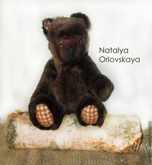 Мишки Тедди ручной работы. Ярмарка Мастеров - ручная работа. Купить Бурый медвежонок. Handmade. Коричневый, мишка в подарок, бурый
