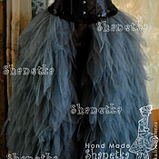 Одежда handmade. Livemaster - original item Skirt Plume of soft tulle for adults. Handmade.