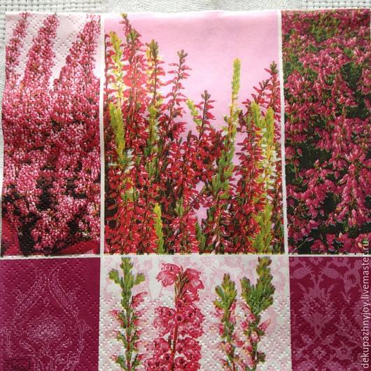 Летние полевые цветы (фоновая салфетка)-206 Декупажная радость