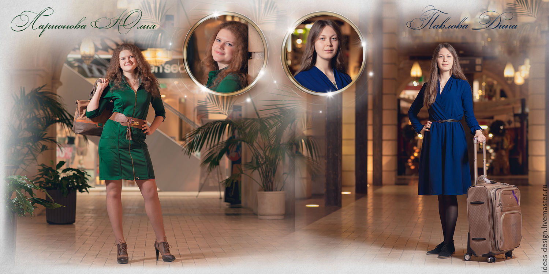 Выпускная фотокнига, текстильный вариант обложки, Фото, Москва,  Фото №1