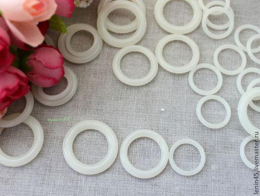 Вязание ручной работы. Ярмарка Мастеров - ручная работа. Купить Кольца для вязания. Handmade. Белый, слингобусы