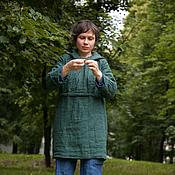 Одежда ручной работы. Ярмарка Мастеров - ручная работа Платье-анорак. Handmade.