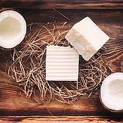 Мыло ручной работы. Ярмарка Мастеров - ручная работа Pure Coconut. Натуральное хозяйственное мыло. Handmade.